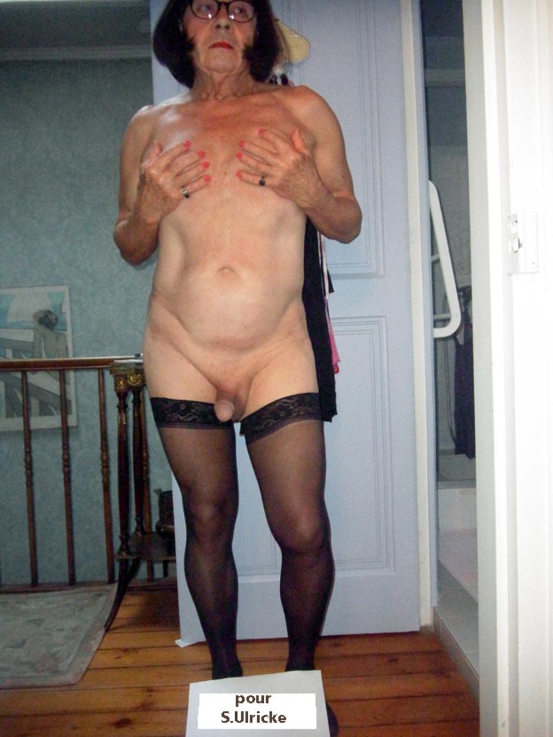 vieux travestie
